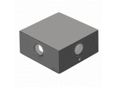 Светильник LGD-Wall-Quad-76G-8W Warm White