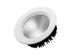 Светодиодный светильник LTD-145WH-FROST-16W Warm White 110deg