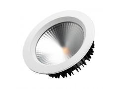 Светодиодный светильник LTD-187WH-FROST-21W Warm White 110deg