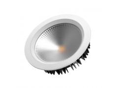 Светодиодный светильник LTD-220WH-FROST-30W Warm White 110deg
