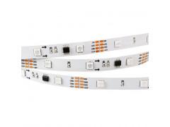 Лента SPI-5000-IR21B 12V RGB (5060,150 LED x3,1804, ПДУ)
