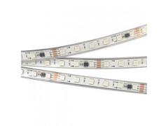 Лента SPI-5000P-5060-60 24V Cx6 RGB-Auto (12mm, 13.2W, IP66)