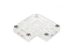 Коннектор угловой для ленты ARL-50000PV (15.5x6mm) прозрачный