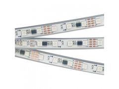 Лента SPI-5000PGS-5060-60 12V Cx3 RGB-Auto (12mm, 13.2W, IP67)