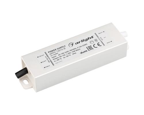 Блок питания ARPV-12015-B (12V, 1.3A, 15W) 022899
