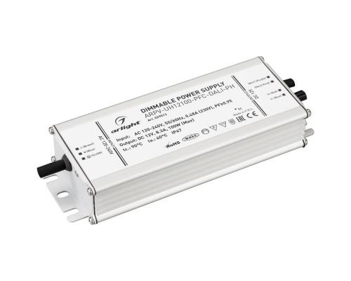 Блок питания ARPV-UH12100-PFC-DALI-PH (12V, 8.3A, 100W) 029513