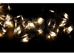 Гирлянда - сеть 2x3м, черный КАУЧУК, 432 LED Тепло-белые