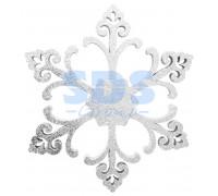 """Елочная фигура """"Снежинка """"Морозко"""", 66 см, цвет белый"""