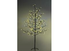 """Дерево комнатное """"Сакура"""", коричневый цвет ствола и веток, высота 1. 5 метра, 120 светодиодов желтого цвета, трансформатор IP44 NEON-NIGHT"""