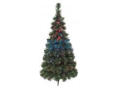 """Новогодняя Ель """"Сосна"""", фибро-оптика 80 см, 93 ветки, с декоративными украшениями"""