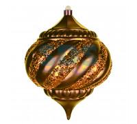 """Елочная фигура """"Лампа"""", 20 см, цвет золотой"""