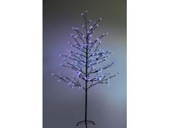 """Дерево комнатное """"Сакура"""", коричневый цвет ствола и веток, высота 1. 5 метра, 120 светодиодов синего цвета, трансформатор IP44 NEON-NIGHT"""