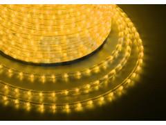 Дюралайт LED, эффект мерцания (2W) - желтый, бухта 100м