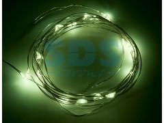 """Гирлянда """"Роса"""", 2 м, 20 диодов, цвет зеленый"""