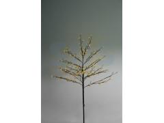 """Дерево комнатное """"Сакура"""", коричневый цвет ствола и веток, высота 1. 2 метра, 80 светодиодов желтого цвета, трансформатор IP44 NEON-NIGHT"""