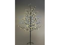"""Дерево комнатное """"Сакура"""", коричневый цвет ствола и веток, высота 1. 5 метра, 120 светодиодов теплого белого цвета, трансформатор IP44 NEON-NIGHT"""