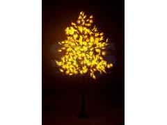 """Светодиодное дерево """"Клён"""", высота 2, 1м, диаметр кроны 1, 8м, желтые светодиоды, IP 65, понижающий трансформатор в комплекте, NEON-NIGHT"""
