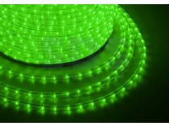 Дюралайт LED, эффект мерцания (2W) - зеленый, бухта 100м