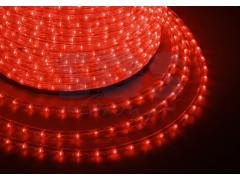 Дюралайт LED, эффект мерцания (2W) - красный, бухта 100м