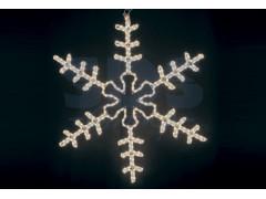 """Фигура """"Большая Снежинка"""" цвет тепло-белый, размер 95*95 см NEON-NIGHT"""