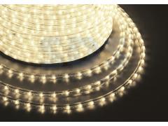 Дюралайт LED , постоянное свечение (2W) - тепло-белый ЭКОНОМ, бухта 100м