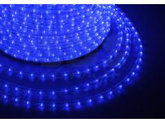 Дюралайт LED, эффект мерцания (2W) - синий, бухта 100м