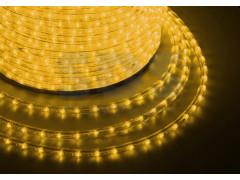 Дюралайт LED, свечение с динамикой (3W) - желтый, бухта 100м
