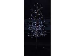 """Дерево комнатное """"Сакура"""", ствол и ветки фольга, высота 1. 5 метра, 120 светодиодов белого цвета, трансформатор IP44 NEON-NIGHT"""