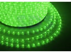 Дюралайт LED, свечение с динамикой (3W) - зеленый, бухта 100м