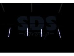 """Гирлянда """"Тающие сосульки"""" светодиодная, 4шт х 20см, шаг 50см, 24 В (с трансформатором) белые светодиоды"""