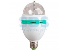 Диско-лампа светодиодная e27, 220В