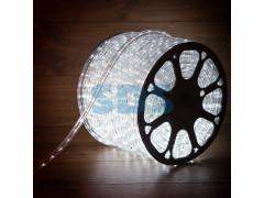 Дюралайт LED, постоянное свечение (2W) - белый, 24 LED/м 10мм, бухта 100м