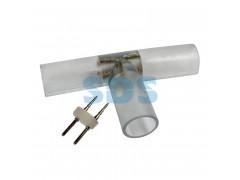 T - коннектор для двухжильного дюралайта 13мм