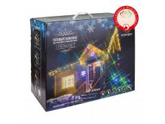 Готовый комплект для новогоднего украшения дома Premium Теплый белый