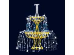 Декораивный фонтан Каскад 320 см (цвет на выбор)