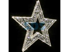 Декоративная 2D фигура Звезда-1 250 см (цвет на выбор)