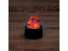 Декоративный светильник Лава 7,5х11 см, батарейки 3хАА (не в комплекте)