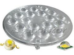Блок линз 18B50DF (50°, 18X LED)
