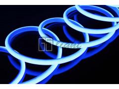 Термостойкая светодиодная лента SMD 2835 180LED/m IP68 24V Blue