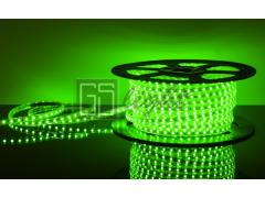 Герметичная светодиодная лента SMD 5050 60led/m 220V IP67 Green